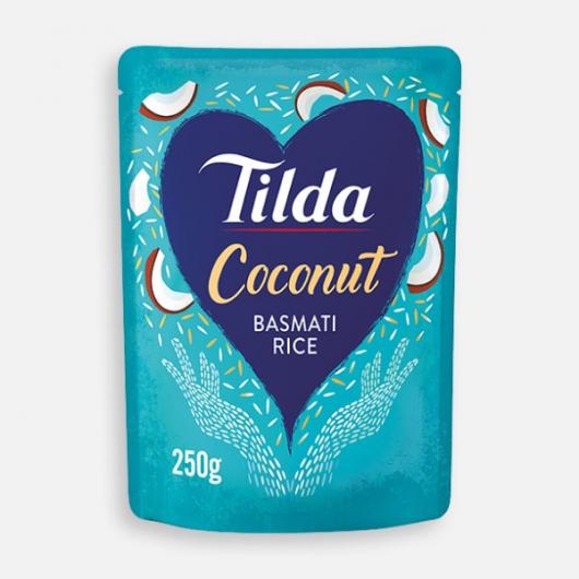 Tilda Microwave Coconut Basmati Rice 250g