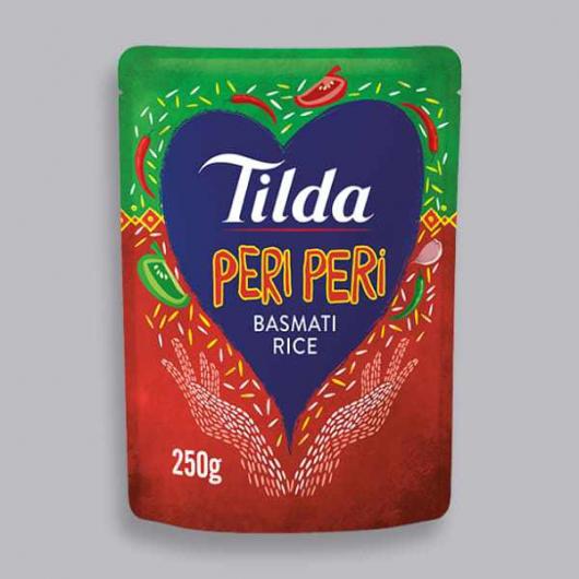 Tilda Microwave Peri Peri Basmati Rice 250g