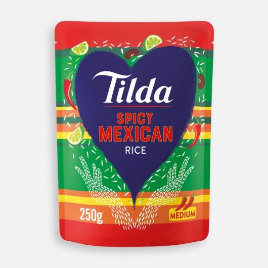 Tilda Steamed Spicy Mexican Basmati 250g