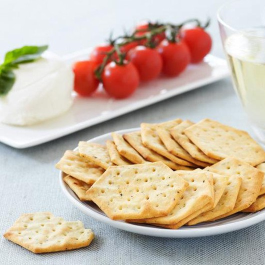 Tomato & Pesto Cheese Crackers