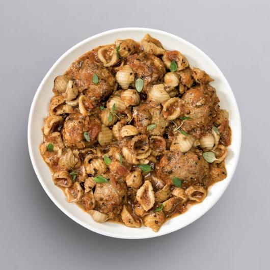 Turkey Meatball & Pasta - +37g Protein