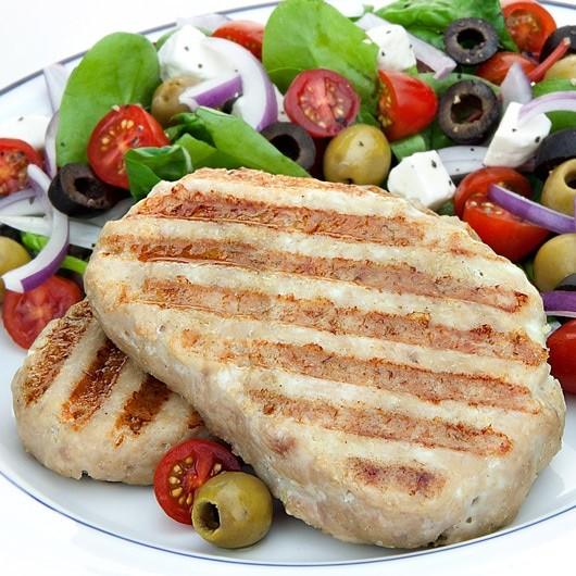 10 x 170g Premium Turkey Breast Hache Steaks