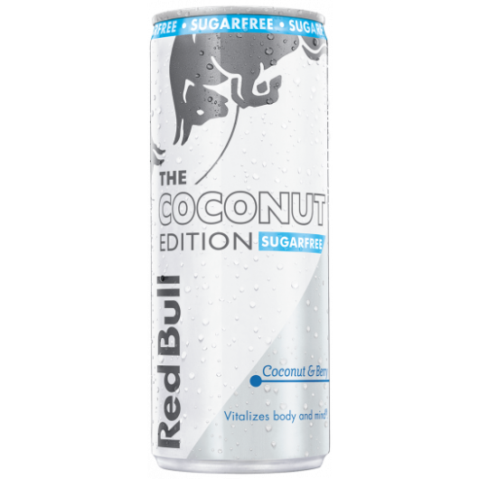 coconut & berry edition red bull