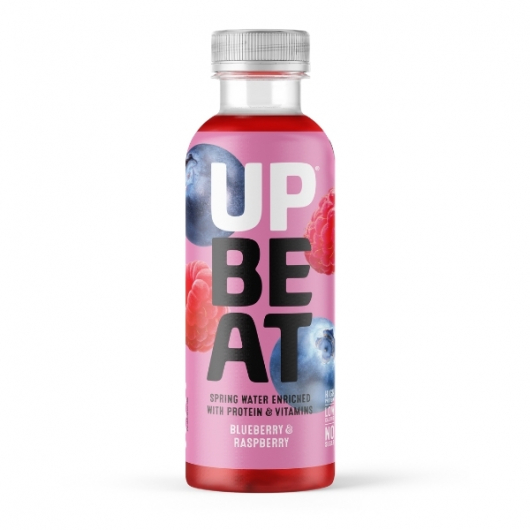 Upbeat Juicy Blueberry & Raspberry Protein Water