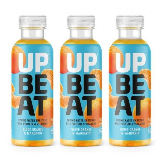 Upbeat orange & mandarin protein water