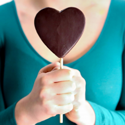 Protein Chocolate Easter Heart