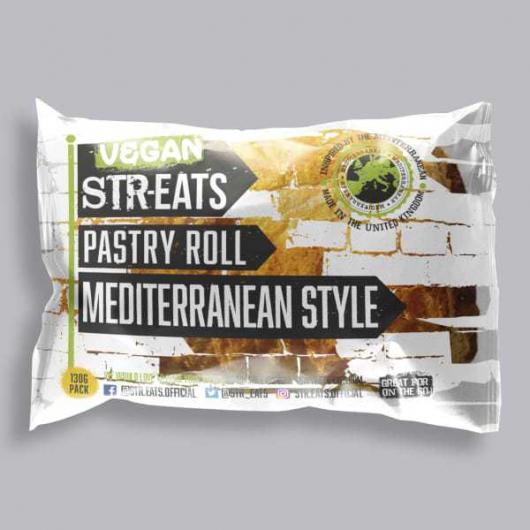 Vegan Mediterranean Style Pastry Roll 130g