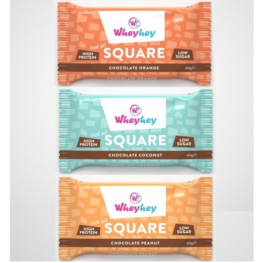 3 x 40g Wheyhey Protein Brownies - 11g Protein