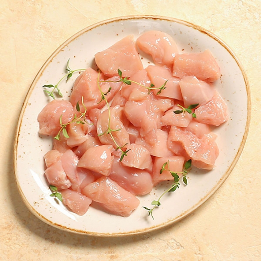 Diced Chicken Breast Fillets - 375g