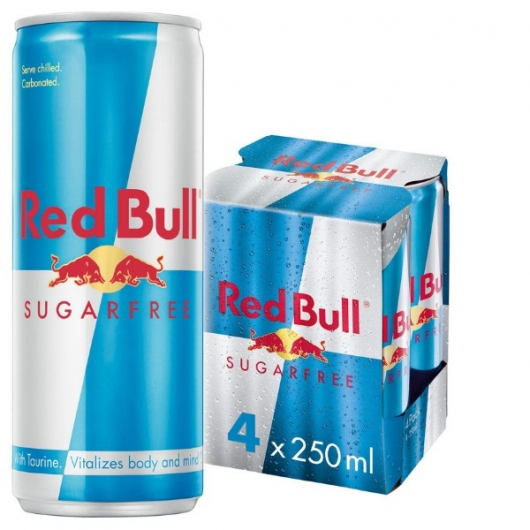 8 x 250ml Sugar Free Energy Cans - 75P PER CAN