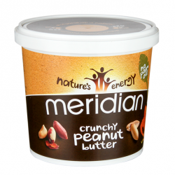 Natural Crunchy Peanut Butter - 1kg