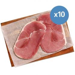 10 x 170g Gammon Steaks