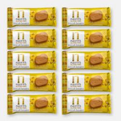 10 x Gluten Free Biscuit Break Stem Ginger Portion Pack 30g