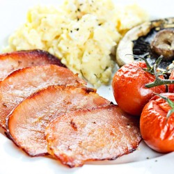20 x 35g Low Fat Back Bacon Medallions