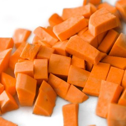 Hand Diced Sweet Potatoes - 500g