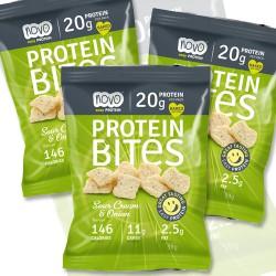 Sour Cream Protein Crisps - 10 Bags
