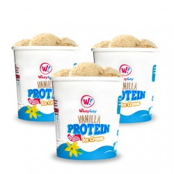 Wheyhey Vanilla Ice Cream - 3 x 500ml