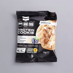PAS Protein Cookie White Chocolate & Blueberry 75g