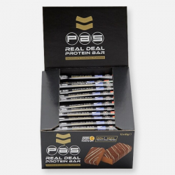 12 x 65g PAS Protein Bars - Chocolate Caramel