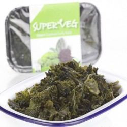 Steamed Curly Kale - 4 x 70g