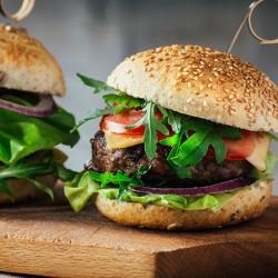 4 x 113g Free Range Steak Burgers