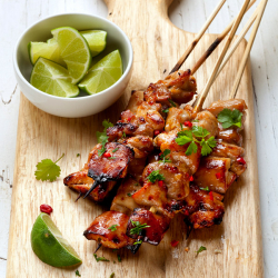 Piri Piri Marinated Chicken Skewers - 225g