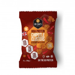 4 x Dr Zaks Chipotle Protein Crisp Clusters