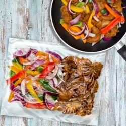 Chicken Fajita Stir-Fry 1 Person