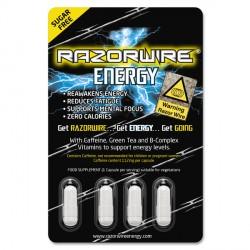 Razorwire Energy Capsule - 12 x 4 Capsules Unflavoured