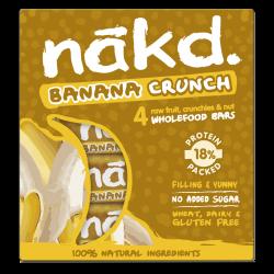 Nākd Banana Crunch- 4 x 30g bars