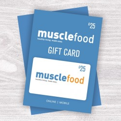 Muscle Food Gift Vouchers - £25