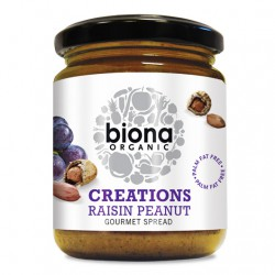 Biona Raisin Peanut Butter - 250g
