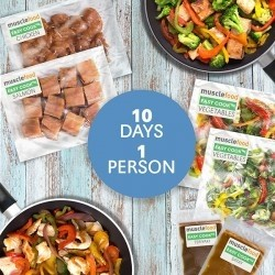 Clean Eating Dinner For 10 Days - 1 Person