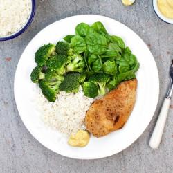 Crispy Chicken & Rice - 55g Protein ****