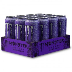 Monster Energy Ultra Violet Zero Calories 12x500ml