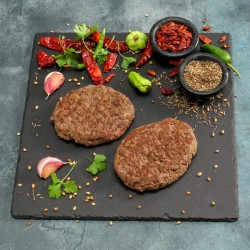 Lean Ostrich Steak Burgers - 113g **** **DELISTED**