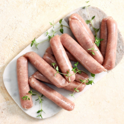 12 x 38g Caramelised Onion Pork Sausages