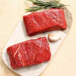2 x 170g Matured Free Range Flat Iron Steaks ****