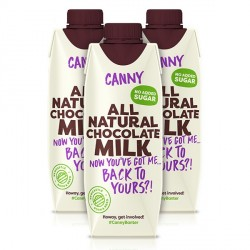 Canny Chocolate Milk - 3 x 330ml
