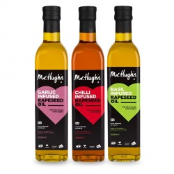 Mr Hugh's Infused Rapeseed Oil 250ml