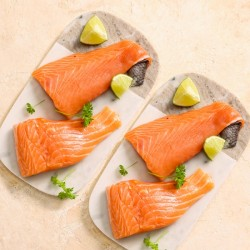 4 x 8-9oz Fresh Salmon Fillets