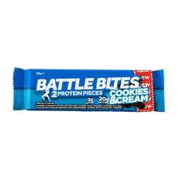 Battle Bites Protein Bar - Cookies n Cream