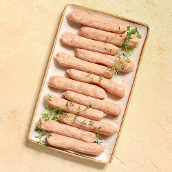 12 x 38g Extra Lean Chicken Sausages
