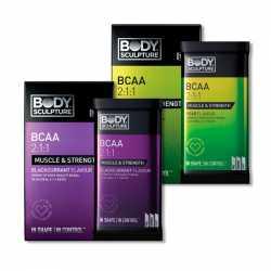 Body Sculpture BCAA Sachets 25% OFF