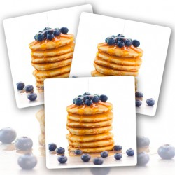 24 x Ready To Eat Blueberry Protein Pancakes