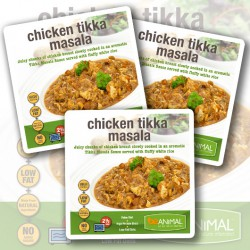 Chicken Tikka Masala with Rice - 6 Meals