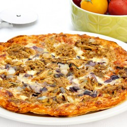 Pulled Pork Protein Pizza ****