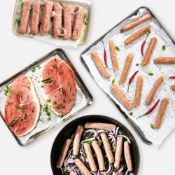 20 Piece Extra Lean Pork Selection