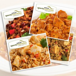 Protein Meals Delivered – 8 Meals Variety Pack