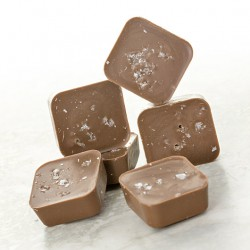 Salted Caramel Protein Milk Chocolates
